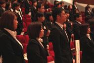 入学式2012年度-6