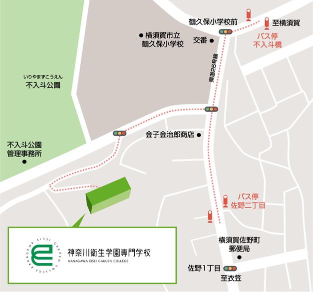 神奈川校map